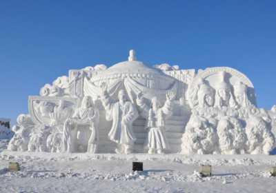 呼伦贝尔冬季旅游,呼伦贝尔大雪原