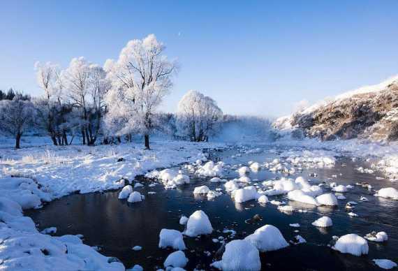 (冰雪旅游)呼伦贝尔 中国冷极村 异域风情满洲里 雪域圣泉阿尔山8天7晚摄影游