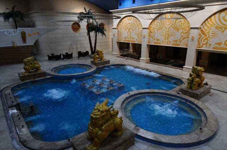 阿尔山温泉