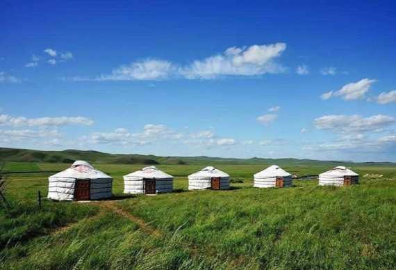 <品质自由行>5天4晚B线呼伦贝尔大草原骑马 住蒙古包 访牧户 看驯鹿 北环线深度游