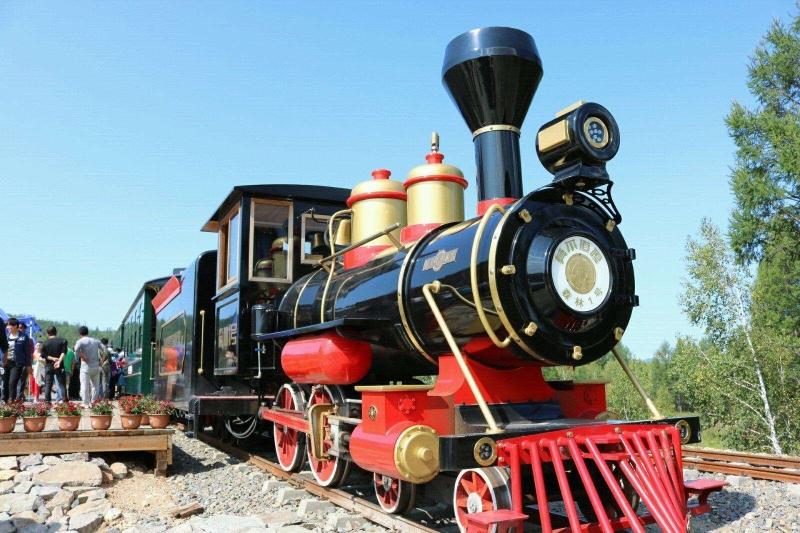 莫尔道嘎森林小火车