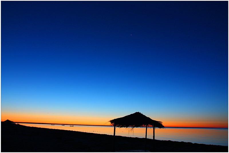贝尔湖日出