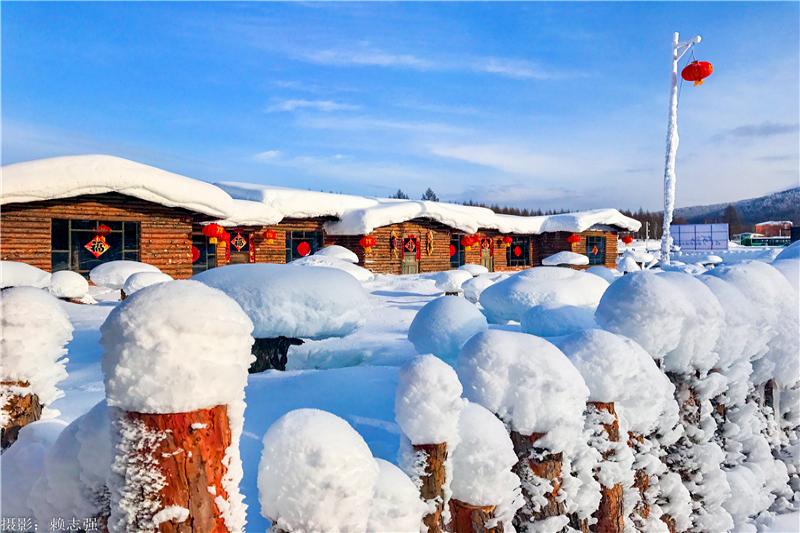 一路向北 冬季就到呼伦贝尔赏雪、玩雪