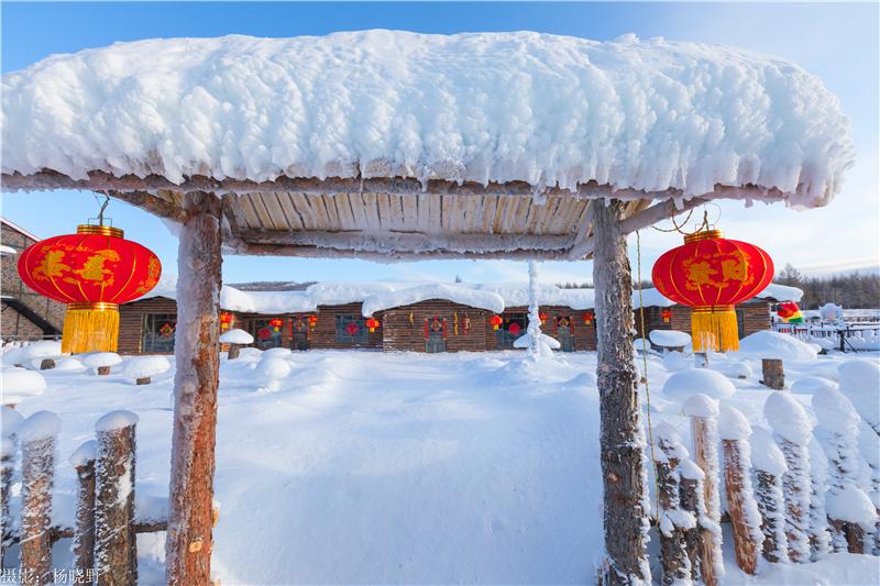 阿尔山雪村 (3)