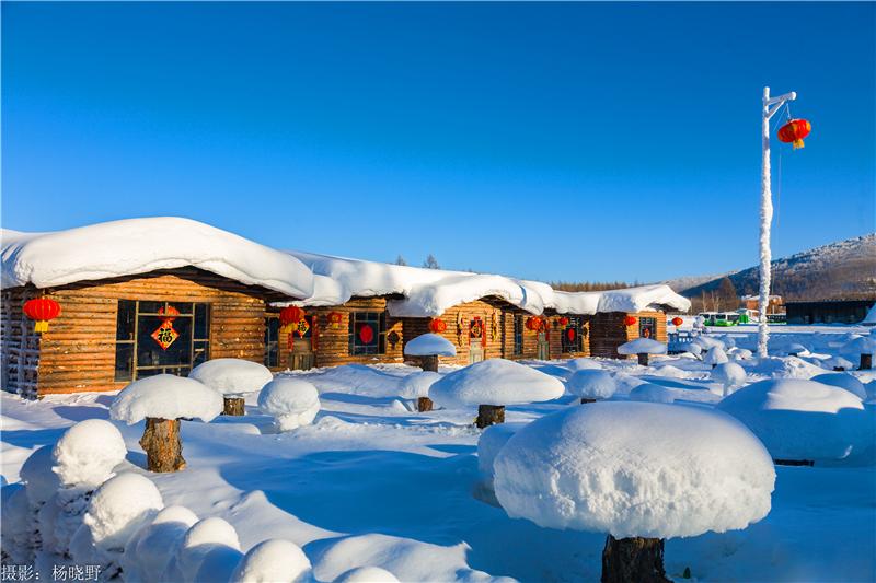 阿尔山雪村打造阿尔山冬季原生态特色之旅