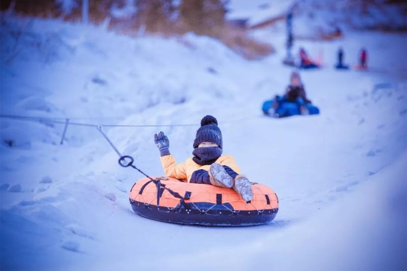 海拉尔东山滑雪场4