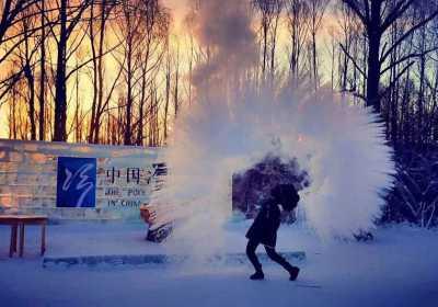 呼伦贝尔冬季旅游攻略,给大家安利一个泼水成冰的教程