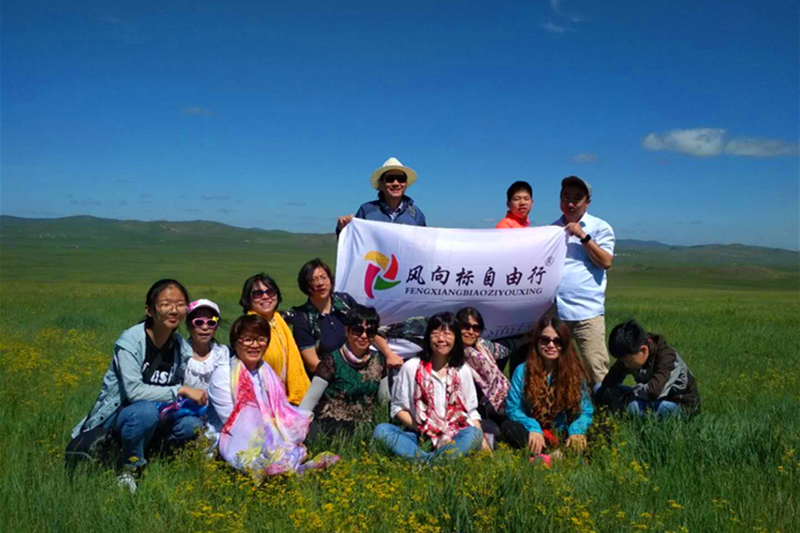 呼伦贝尔4日游,草原骑马,住蒙古包,访牧户,异域风情满洲里