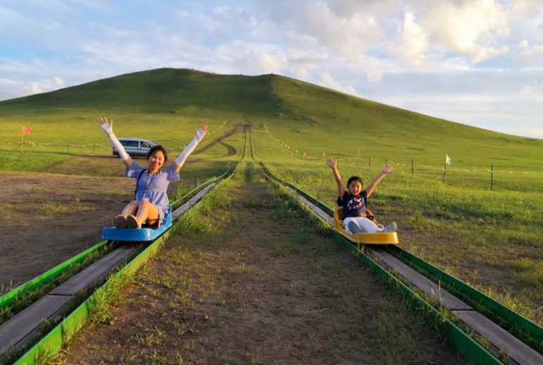 呼伦贝尔滑草 草原卡丁车 一生值得体验一次的当地玩法