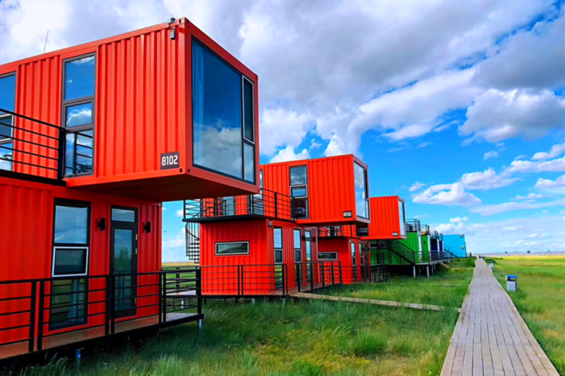 贝尔湖集装箱酒店1