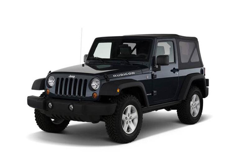 5座jeep牧马人越野车